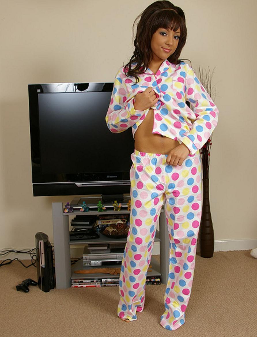 Butt pajamas girls flap